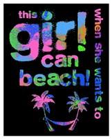 This Girls Can Beach Fine Art Print