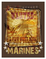 Wanted Fine Art Print