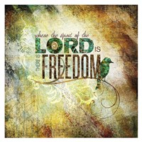 Lord Freedom Fine Art Print