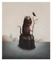 King of the Black Isle Fine Art Print