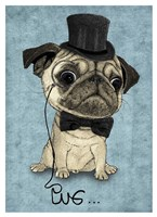 Gentle Pug Fine Art Print