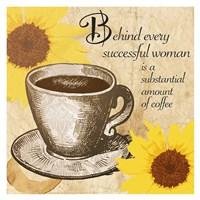 Coffee N Sunshowers Fine Art Print