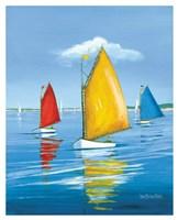 Newport Regatta Fine Art Print