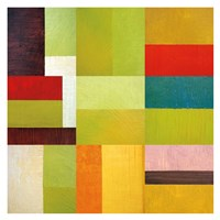 Color Study Abstract 1 Fine Art Print