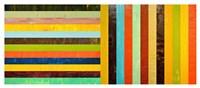 Panel Abstract - Digital Compilation Fine Art Print