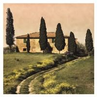 Tuscan Farmhouse Fine Art Print