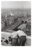 View from the Towers of Notre Dame Fine Art Print