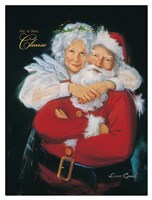 Mr. and Mrs. Claus Fine Art Print