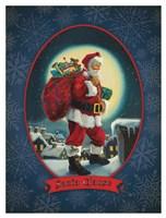 Santa Clause Fine Art Print