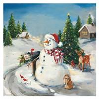 To Santa Fine Art Print