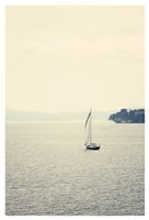 Hazy Sea Fine Art Print
