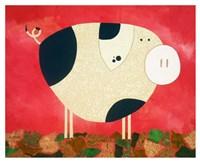 Pig Newton Fine Art Print