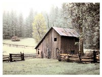 Barn near Sonora Fine Art Print