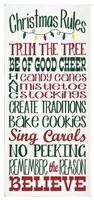Christmas Rules Fine Art Print