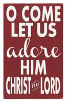 Let Us Adore Him Fine Art Print