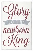 Newborn King Fine Art Print