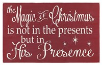 The Magic of Christmas Fine Art Print