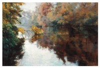 Branch on the Charles Fine Art Print