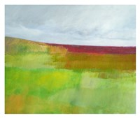 Dorset Green and Red Fine Art Print
