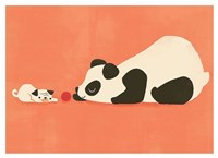 The Pug and the Panda Fine Art Print