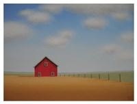 In a Golden Field Fine Art Print