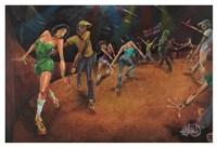 Bounce, Rock, Skate! Fine Art Print