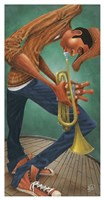 Mr. Brass Fine Art Print
