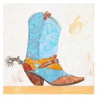 Boy Boot Fine Art Print