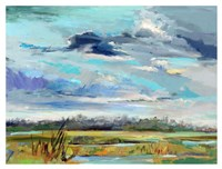 Marsh Skies Fine Art Print
