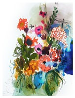 Flowers and Insects One Fine Art Print