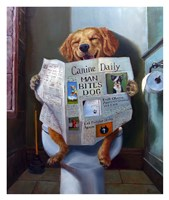 Dog Gone Funny Fine Art Print