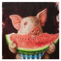 Pig Out Fine Art Print
