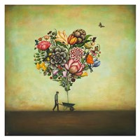 Big Heart Botany Fine Art Print