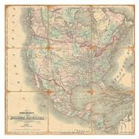 American Republic, 1842 Fine Art Print