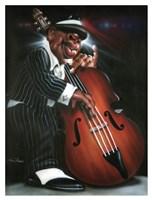 Jazzman D Fine Art Print