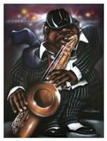 Jazzman Moe Fine Art Print