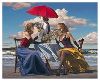 Cafe Oceanus Fine Art Print