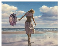 Walking on Broken Clouds Fine Art Print