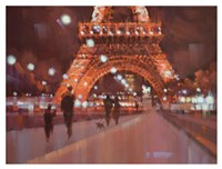 Paris at Night Fine Art Print