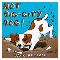 Hot Dig-Gity Dog! Fine Art Print