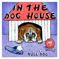In the Dog House Fine Art Print