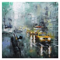 New York Rain Fine Art Print