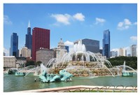 Buckingham Fountain Fine Art Print