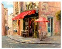 Hillside Cafe Fine Art Print