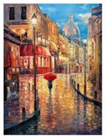 Montmartre Evening Fine Art Print