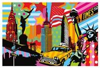 New York Taxi I Fine Art Print