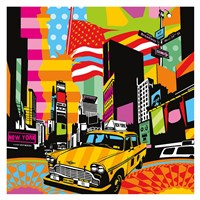 New York Taxi II Fine Art Print