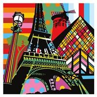 Paris Pop Fine Art Print