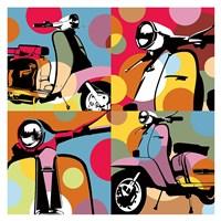 Scooter Pop Fine Art Print