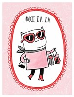 Cats of Paris - Shopping Fine Art Print